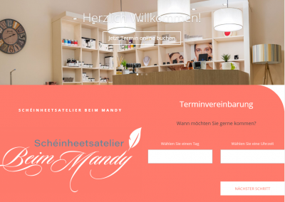 Online Terminvergabe für Kosmetikstudio
