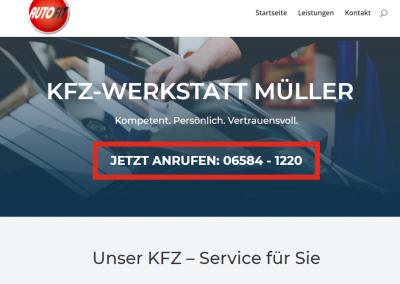 Neue Webseite mit Kontaktdaten