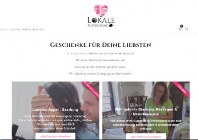 Gutscheine für lokale Geschäfte online kaufen